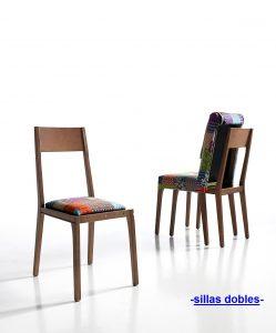 Catálogo de sillas dobles para comprar On-Line
