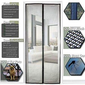 cortina mosquitera para puerta - El TOP 10