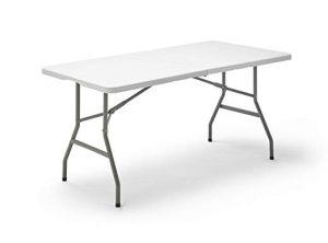 mesa resina plegable - Reviews para comprar