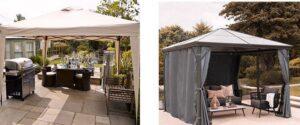 Selección de cenador terraza para comprar On-Line - Los 10 más vendidos